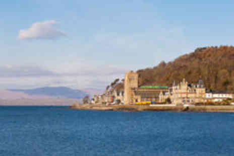 The Ranald Hotel - Scottish Dining Break in Oban with Dinner in a Choice of Restaurants - Save 44%