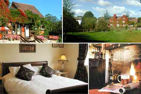 The Crown at Hopton - Two Night Christmas or New Year Break Shropshire - Save 50%