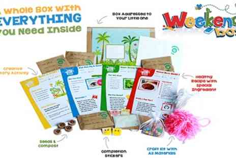 Weekend Box - Weekend Boxes Creative Green And Healthy Activities For Children Aged 3  8 - Save 34%