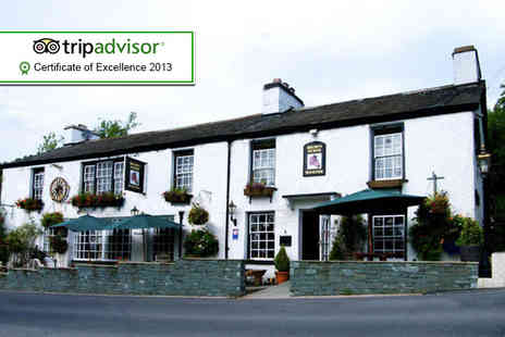 Brown Horse Inn - Two night stay for 2 including breakfast & spa passes - Save 45%