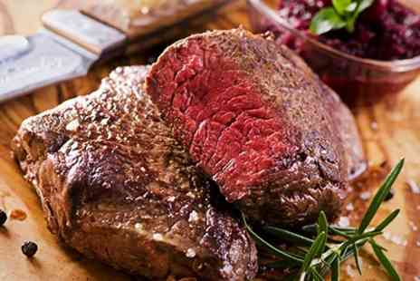 Satis House - Steak and Champagne Dinner For Two - Save 46%