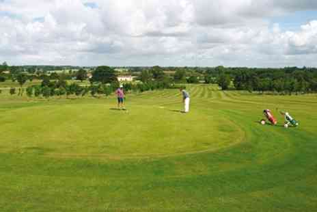 Oaksey Park - Golf Day With Driving Range Plus Snacks - Save 60%