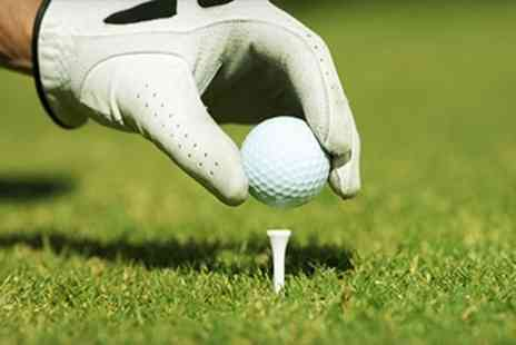 Chilworth Golf Centre -  300 Range Balls Plus Burger and Pint - Save 65%