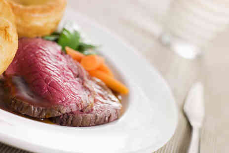Indulgence Bramhall - Two course traditional Sunday roast for two people - Save 50%