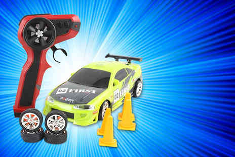 Giant Red 7 - Remote control Mitsubishi Toyota or Nissan drift racing car - Save 74%