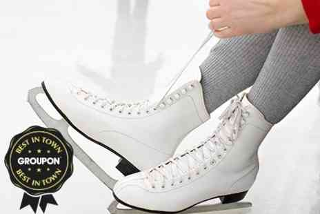 Lee Valley Ice Centre - Ice Skating With Skate Hire For Two - Save 54%