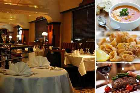 The Charleston Restaurant - Three course meal for two - Save 57%