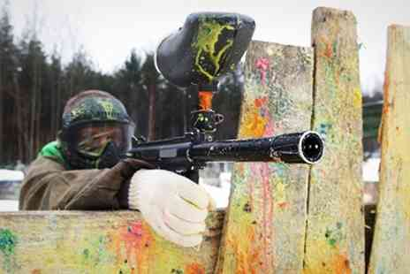 Asylum Paintball Sheffield - Paintballing For Six With 100 Paintballs - Save 95%