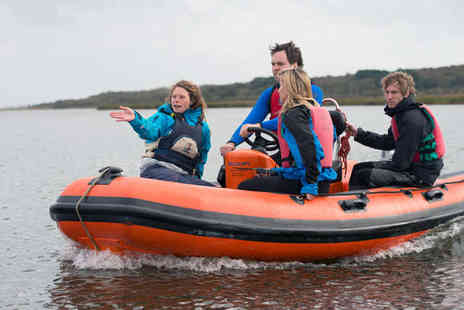 Hengistbury Head Outdoor - One Day RYA Level One Power Boat Course for One - Save 51%