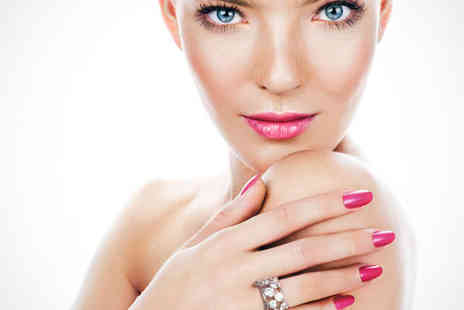 Illusion Hair Beauty and Tanning  - Shellac Manicure or Pedicure - Save 59%
