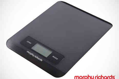 Buy Moby - Morphy Richards Electronic Kitchen Scales in Choice of Colours - Save 37%