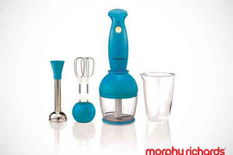 Buy Moby - Morphy Richards Hand Blender Set in Cyan or Yellow - Save 35%