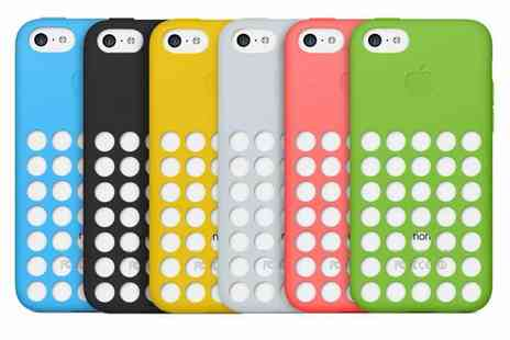 FrostyCow - Ultra Thin Coloured iPhone 5C Case - Save 75%