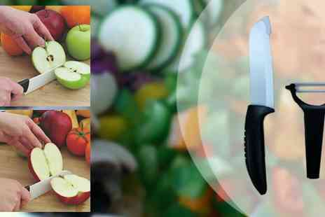 Sterling Distribution - Cera Sharp Ceramic Knife & Peeler - Save 46%