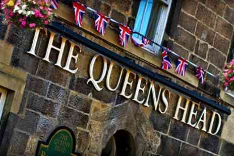 Queens Head Hotel Rothbury - In Northumberland 4star One Night Stay For Two - Save 34%