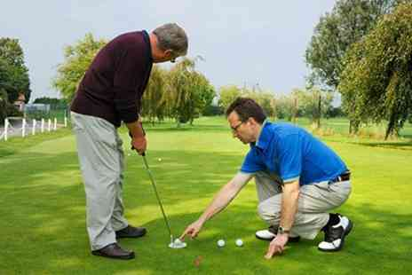 The Golf Swing Company - 45 Minute Golf Lesson - Save 63%