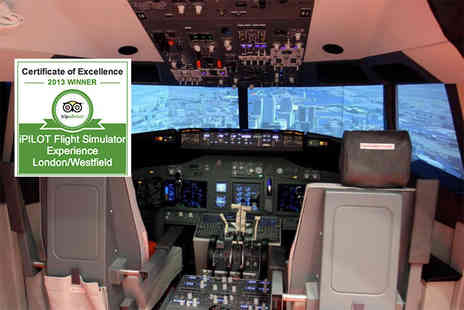 iPilot - 30 minute flight simulation experience with iPilot - Save 55%