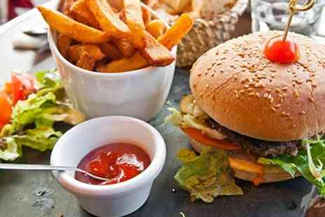 Eat sleep drink - Cheeseburger Meal With Drinks For Two - Save 53%