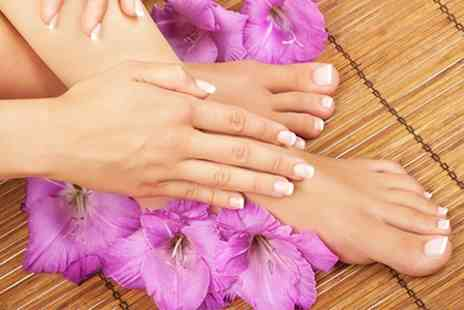 Atlantis Beauty Salon - Gel Polish Manicure or Pedicure - Save 50%