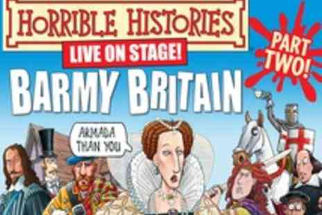 Garrick Theatre - Ticket to Horrible Histories Barmy Britain Part Two - Save 33%