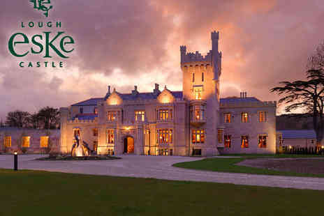Lough Eske Castle Hotel - One Night Stay for Two People with Daily Buffet Breakfast - Save 55%