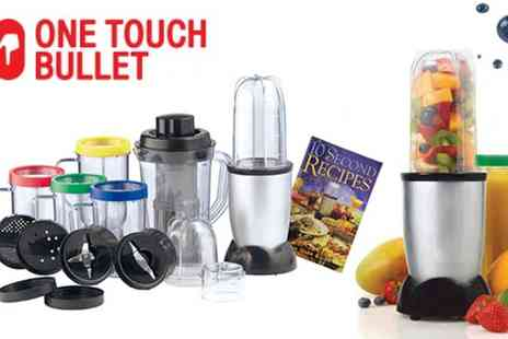 Jazzy Deals - 21 Piece Bullet Kitchen Robot Blender Set - Save 67%