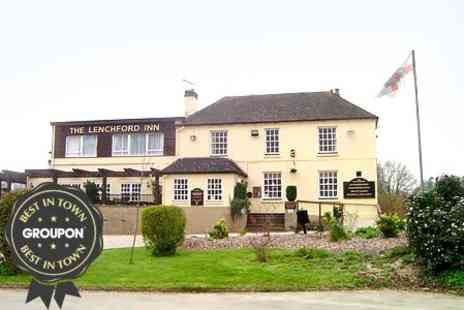 The Lenchford Inn - In Worcester One Night Stay For Two With Breakfast - Save 34%