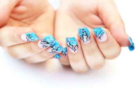 Pamper Lounge - Nail File and Shape With Art - Save 55%