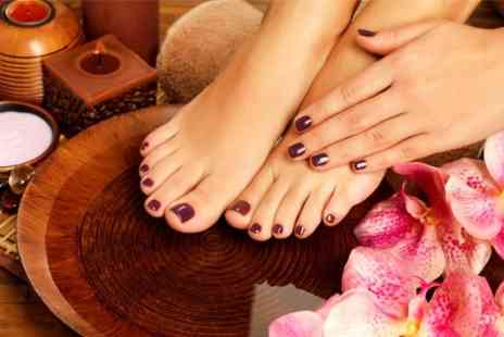Jays Hair and Beauty - Manicure or Pedicure or Mani Pedi - Save 40%
