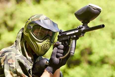 Point Blank Paintball - Paintball VIP Package For Six - Save 93%