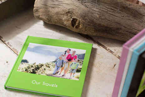 Huggler - Personalised 26 Page Square Hardcover Photo Book - Save 65%