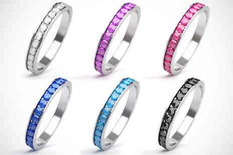 Gleeven Design - One Ring with Swarovski Elements In Choice of Colours - Save 69%