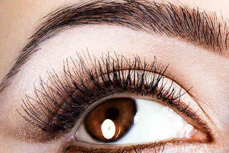 The Traditional Indian Threading Bar - Eyebrow Thread and Tint Indian Head Massage or Eyebrow Thread and Tint with Eyelash Tint - Save 53%