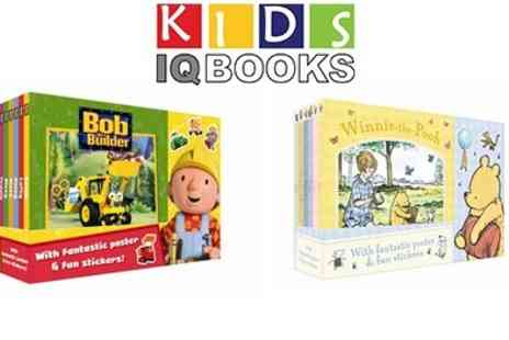 KidsIQ - Winnie the Pooh and Bob the Builder Book Board Collection - Save 46%