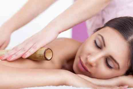 The Hills - Warm Bamboo Massage Plus Thai Foot Massage - Save 62%
