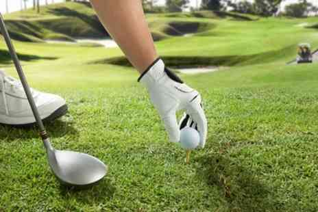 Palleg & Swansea Valley Golf Course - Day of Golf Plus Soup and Roll For Two - Save 58%