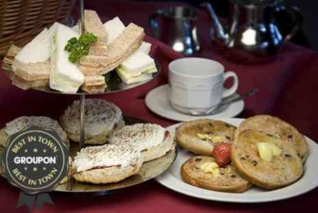 916 Diner - Sparkling Afternoon Tea For Two - Save 49%