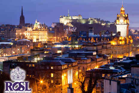 Royal Over Seas League - Spectacular Views of the Scottish Capital - Save 47%