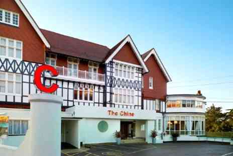 The Chine Hotel - In Bournemouth One Nights For Two With Breakfast and Wine - Save 63%