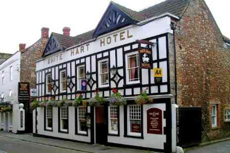 White Hart Hotel - In Somerset One Night For Two With Breakfast - Save 49%