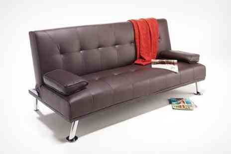 World of Sofa Beds - Havana Sofa Bed in Brown - Save 68%