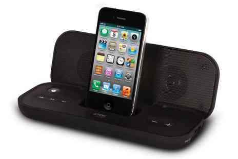 Ask Electronics - Ultra Portable Travel Speaker for iPod and iPhone - Save 83%