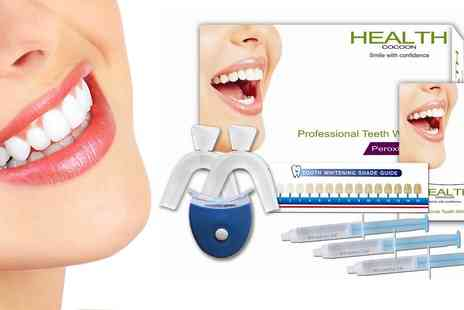Health Cocoon - Peroxide Free Professional Teeth Whitening Kit - Save 48%