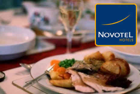 Novotel - Delicious three course Sunday lunch and Bucks Fizz - Save 52%
