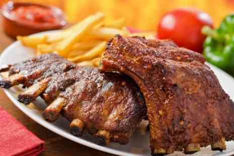 The Oak Charing - Barbecue Pork Ribs Sharing Platter For Two - Save 50%