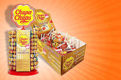 Zap Sweets - 50 assorted Chupa Chups lollipops - Save 50%