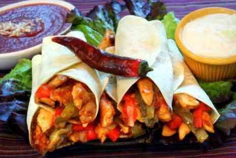 Glasgow Mansion House - Burger or Fajitas With Dessert - Save 59%