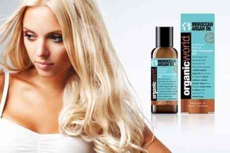 Chemist 4 U - Moroccan Argan Oil Hair Treatment  With Free Delivery - Save 70%