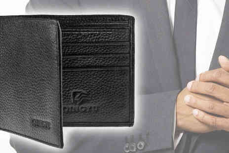 Pearl and Hall Direct - Every gentleman needs a leather wallet and this is perfect at a special price - Save 35%