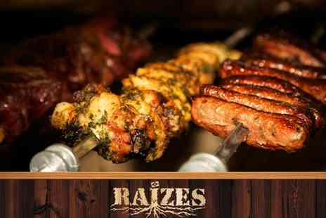Raizes Brazilian Restaurant - All You Can Eat Rodizio Grill - Save 41%